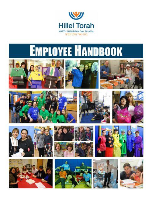 Hillel Torah Employee Handbook