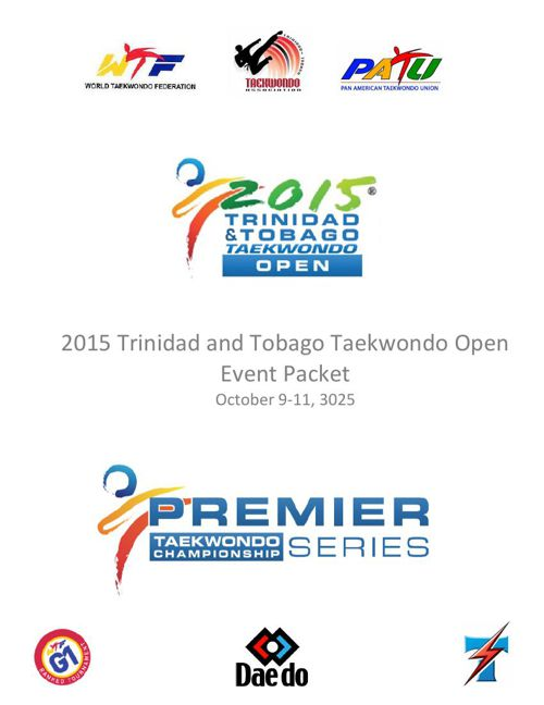 2015 Trinidad and Tobago Taekwondo Event Packet-FINAL