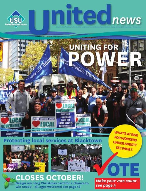 United Magazine Winter 2013