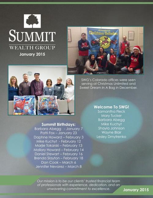 2015 January SWG Newsletter