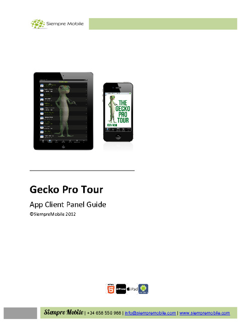 Client Panel Guide - Gecko