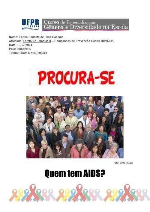 Quem tem AIDS