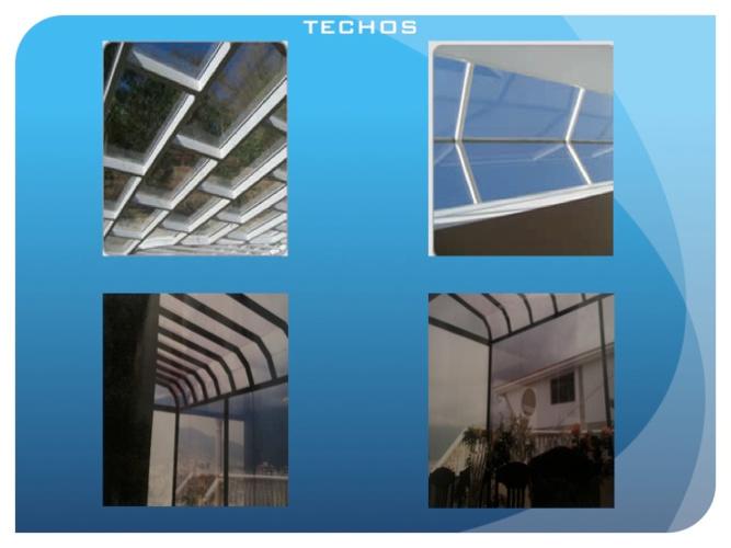 Catalogo de techos fachadas y vitrinas