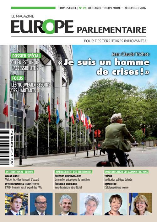 Europe parlementaire n° 29  octobre - novembre - décembre 20