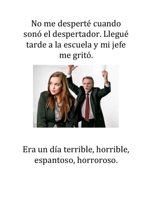 SRTA. BOIKE Y EL DIA TERRIBLE, HORRIBLE, ESPANTOSO, HORROROSO