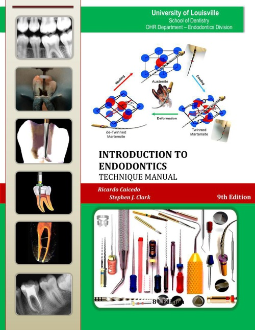 INTRODUCTION TO ENDODONTICS MANUAL 2014