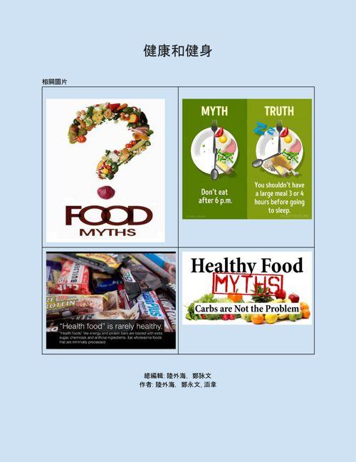 Ch3L9T7 Magazine: 健康和健身
