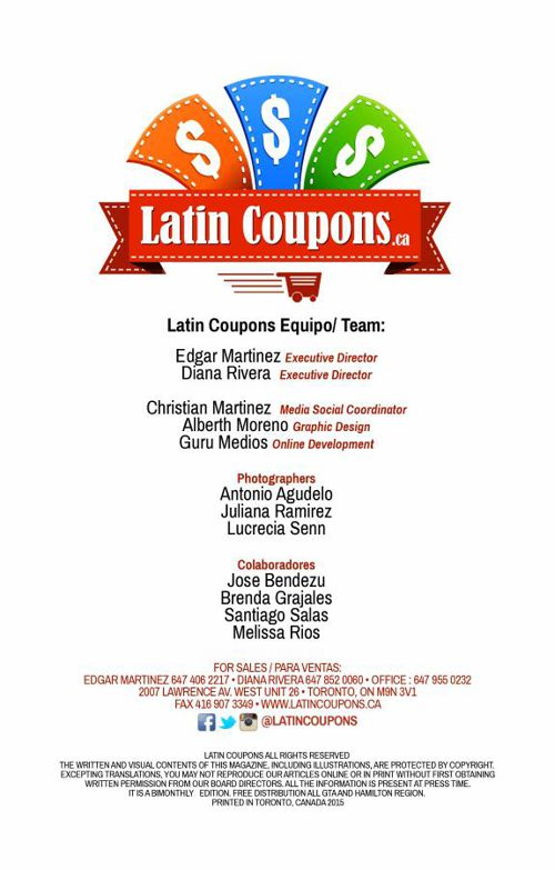 Latin Coupons 2015