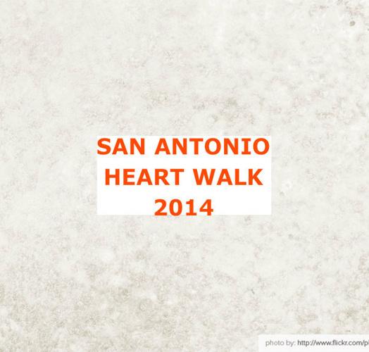 San Antonio Heart Walk 2014