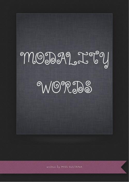 Modality words