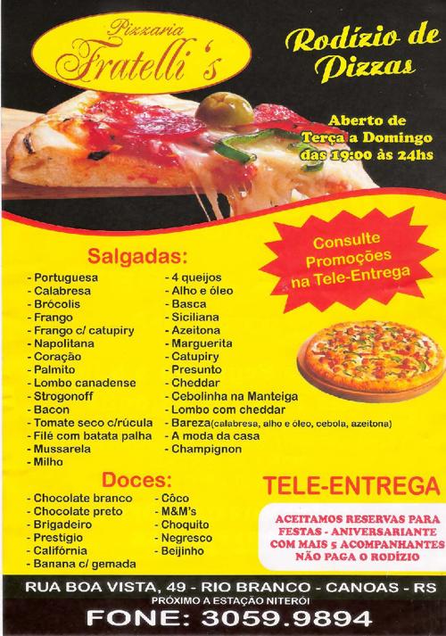 Fratelli's Pizzaria