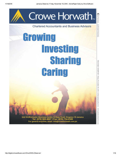 Crowe Horwath Jamaica Services