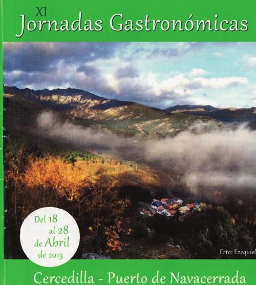 Jornadas Gastronómicas Cercedilla