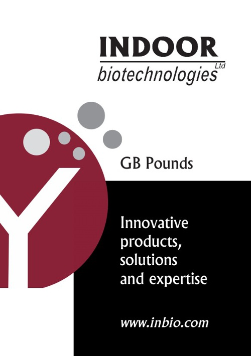 Indoor Biotechnologies Prices GBP