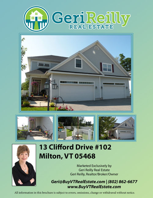 13 Clifford Drive #102 - Milton, VT