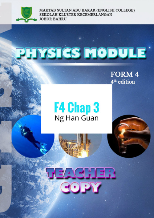 Chapter 3 Force and Pressure