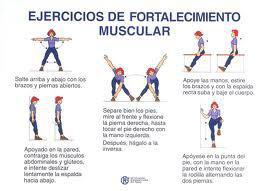 Cartilla De Ejercicios De Fortalecimiento En Actividad Fisica