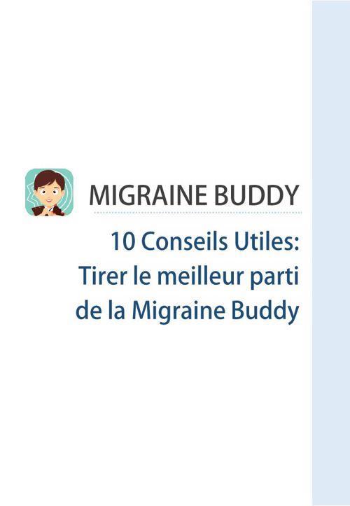Migraine Buddy Manual ver 12.6 (FR)