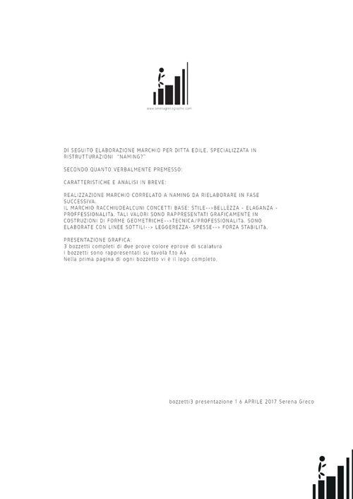 Design - grafica - elaborazione marchio - presentazione 1 - bozz