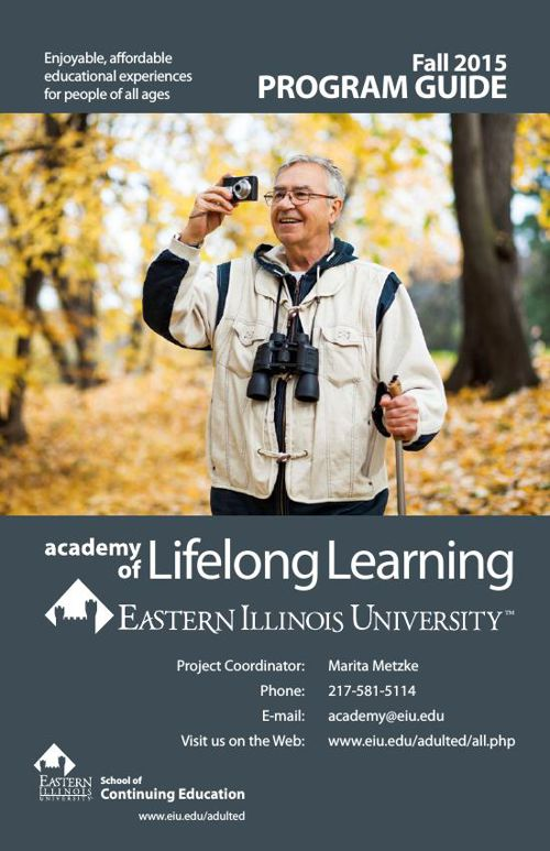 Fall 2015 Academy of Lifelong Learning Program Guide