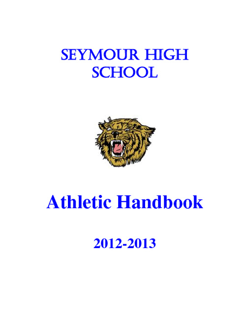 SHS Athletic Handbook