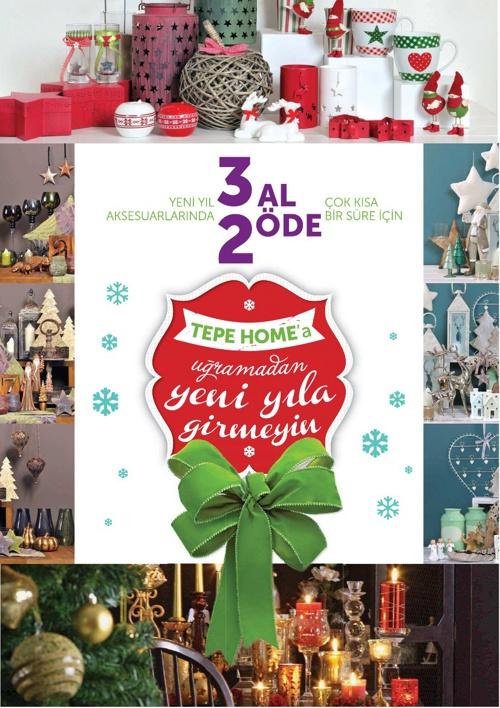 Tepe Home | 2012-2013 Yeni Yıl Aksesuar Ürün Kataloğu