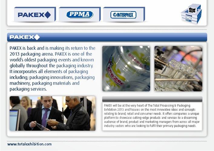 Pakex Brochure