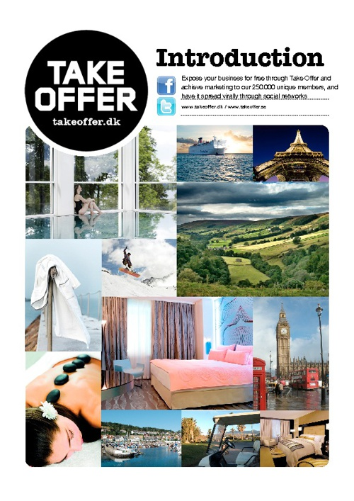 Take Offer Partnership brochure