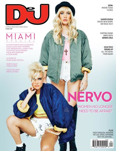 Moby DJ Mag USA March 2018