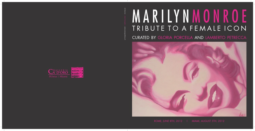 MARILYN MONROE | TRIBUTE TO A FEMALE ICON | Galleria Ca'd'oro