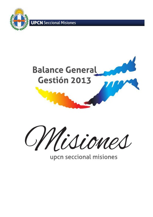 Balance 2013 PDF - UPCN