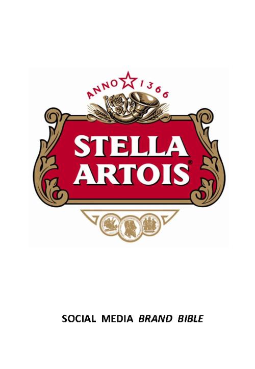 Stella Artois Social Bible