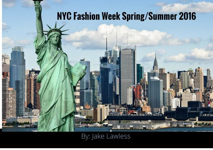 Jake Lawless' Fashion Week Project