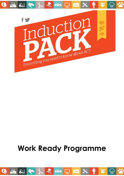 Work Ready Induction pack