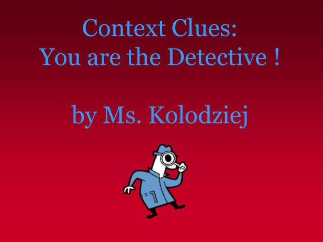 Flipbook Context Clues