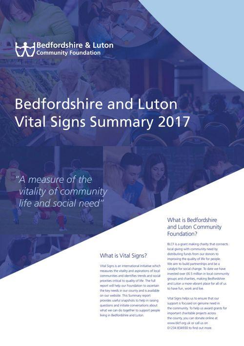 BLCF Vital Signs Brochure