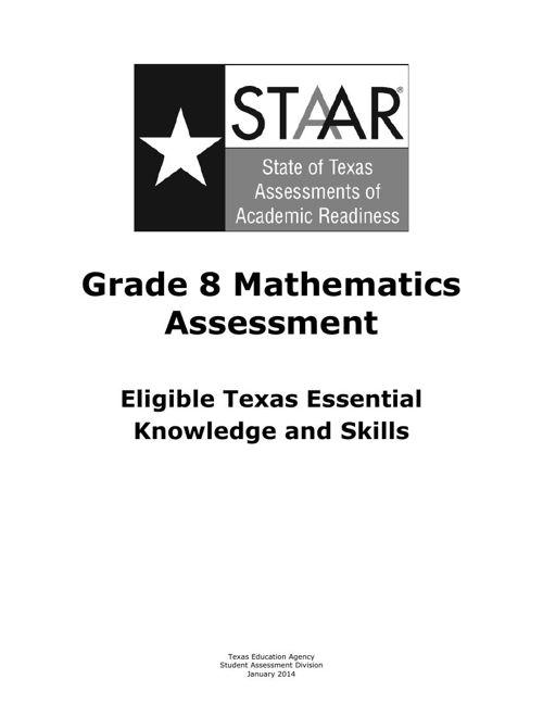 8th grade testable TKS