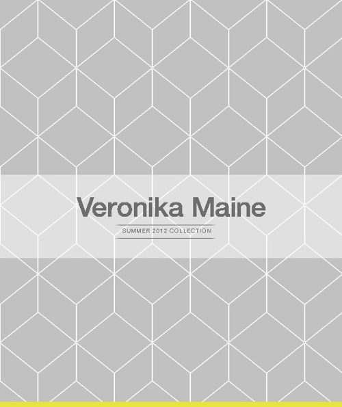 Veronika Maine Summer 2012 Collection