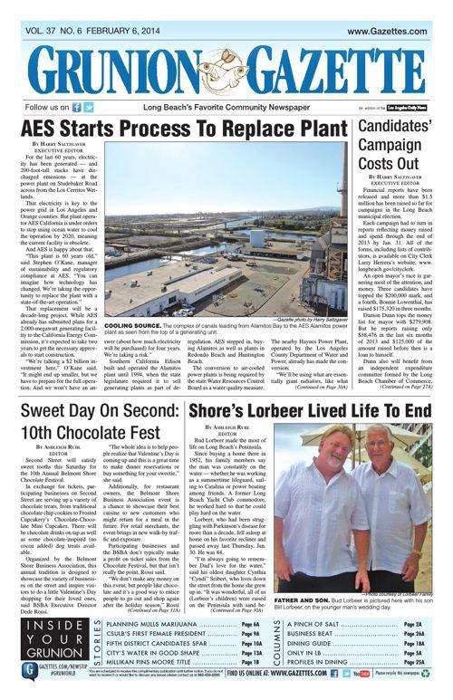 Grunion Gazette | February 6, 2014