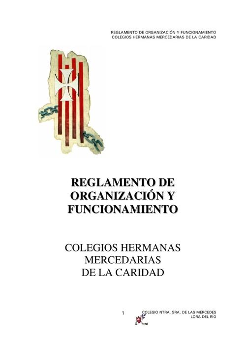 REGLAMENTO DE ORGANIZACIÓN Y FUNCIONAMIENTO (ROF)