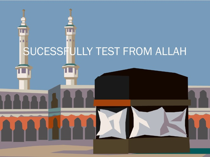 SUCESSFULLY TEST FROM ALLAH