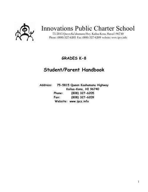 14-15 Parent Handbook