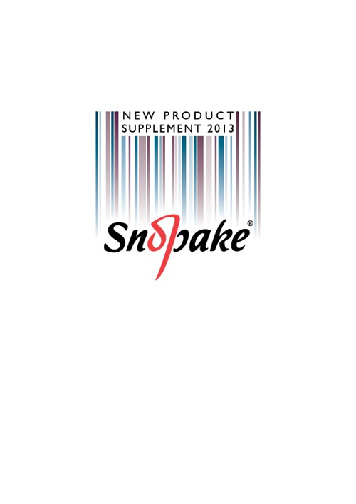 Snopake New Product Supplement 2013