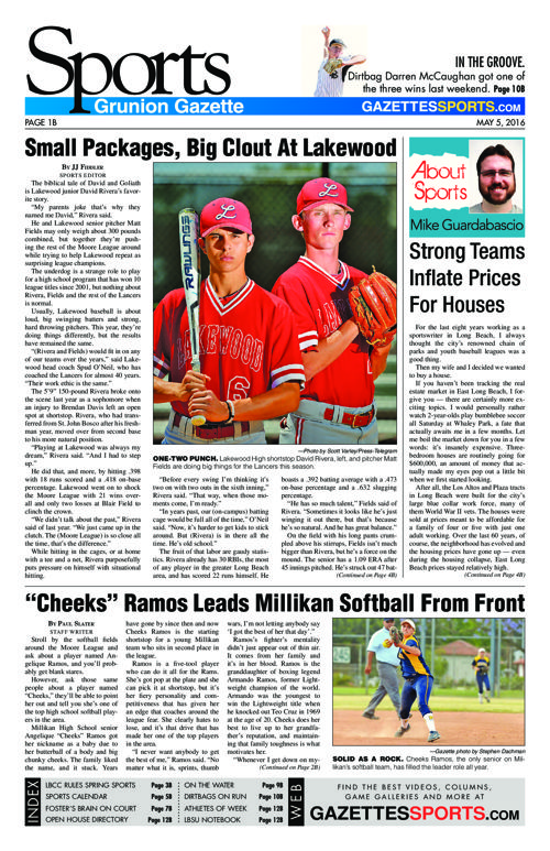 Gazette Sports | May 5, 2016