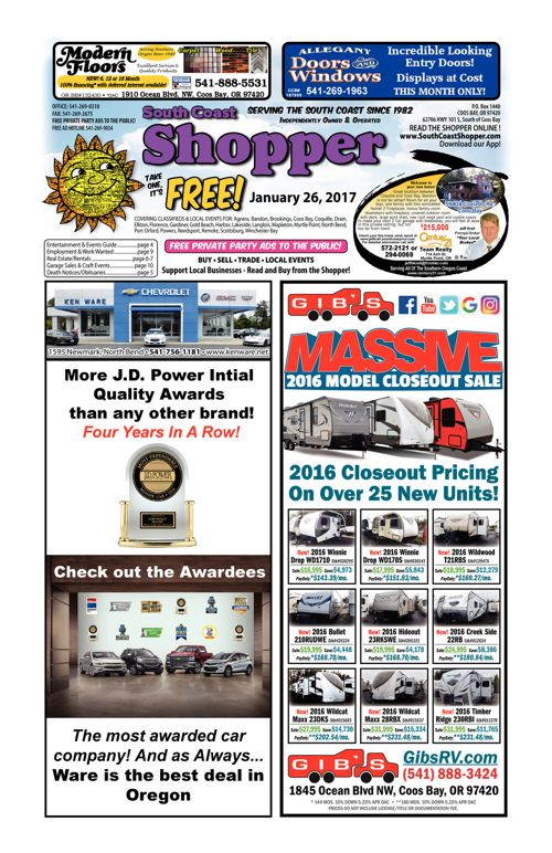 South Coast Shopper e-Edition 1-26-17