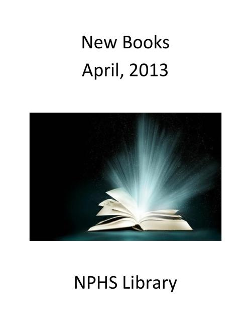 New Books April 2013