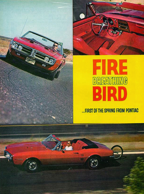 1967 Firebird Ads