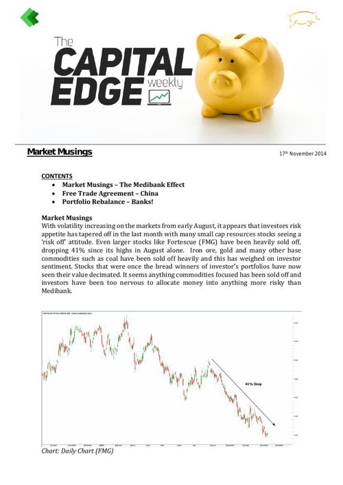 CAP EDGE WEEKLY 17th November
