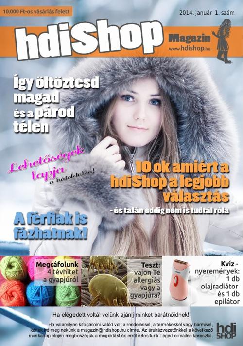 hdiShop Magazin 1.szám