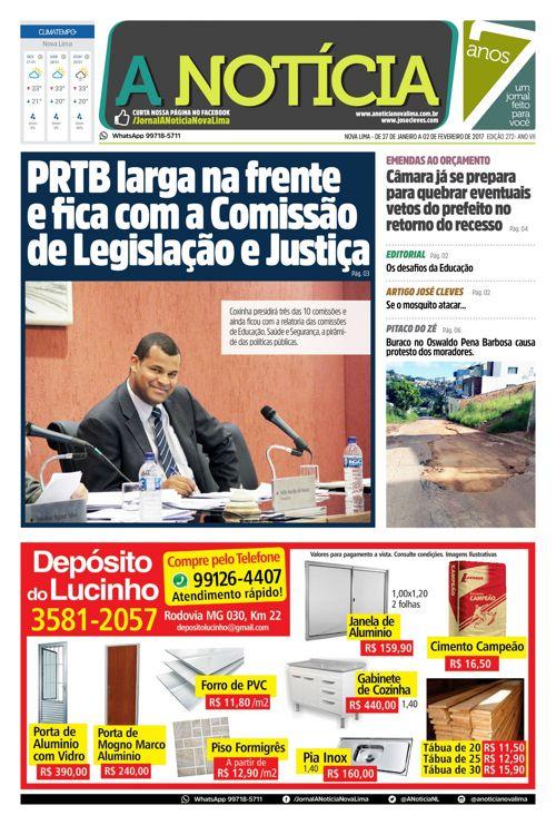 Jornal A Notícia - Edição 272